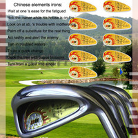Wholesale new golf irons Grenda D8 irons pw sw China No brand golf clubs