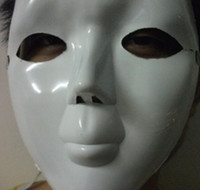 Wholesale Face mask Halloween mask scream mask scream mask Plastic mask can graffiti