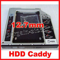 Wholesale 2nd HDD Hard disk drive caddy for TOSHIBA Qosmio F50 F501 F55 Series
