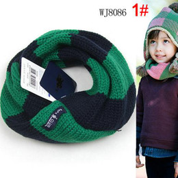 Wholesale 2011 Hot Sale High quality Fashion Style Children Knitting Scarves Neck warmers Temperament colors