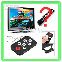 Wholesale Universal IR Mini Keychain TV Remote Control Tool AAFY