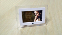 Wholesale 7 inch LCD TFT Digital Photo Frame With MP3 MP4 Player High Resolution Displa New