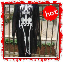 Wholesale Halloween gift props men s clothes skeleton ghost adult skull party costumes costume good
