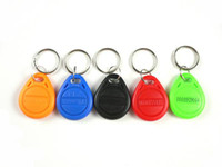 can be colorful RFID Access Control - RFID key tags ABS KHz chip ID type for access control