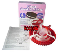 Wholesale NEW Giant Cookie Maker Silicone Bakeware Set China Post Air