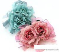 Wholesale Christmas Fashion flower brooch headband hair rubber band accessories jewelry headwear Z93
