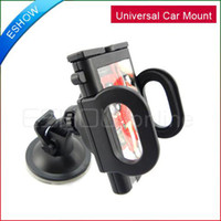 Wholesale Universal Car Mount Holder stand supporter Plastic for Cell Phone GPS Q0053A