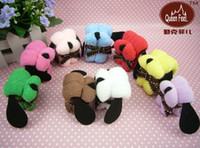 Wholesale 10pcs Hot Selling Dog Style Gift Cake Towel Wedding Birthday Gifts cm color g