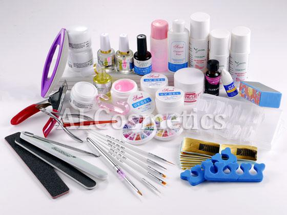 Wholesale Uv Gel - Buy 35 in 1 Acrylic Nail Art Manicure UV Gel