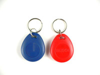 Wholesale RFID IC key tags Mifare k chip MHz key fobs for Access Control