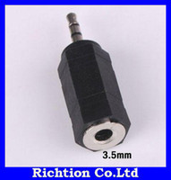 Wholesale mm plug to mm jack conveter mm to mm headphone adapter