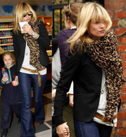 Wholesale 10pcs Hot Celebrity scarves Animal leopard print Scarf Ponchos WRAP Shawl Stole p011