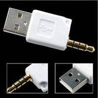 Wholesale converter for Ipod Shuffle Generation mm to USB Connector for Ipad MP3
