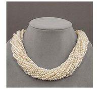 White akoya pearl pendants - REFINEMENT AKOYA AAA WHITE SMALL PEARL NECKLACE