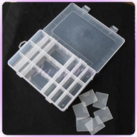 Wholesale Jewelry Coin BEAD DISPLAY CASE Box COMPARTMENTS