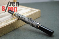 Calligraphy & Fountain Pens antique fountain - JINHAO ANTIQUE GREY BROAD NIB FOUNTAIN PEN WITH CRYSTAL MIX ORDER