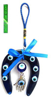 Wholesale Muslim products Evil eye amulet horseshoe shape