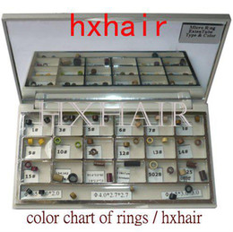 Color Chart of Rings   Micro Ring Links Beads   Pre-Bonded I-Tip Hair Extension Tools