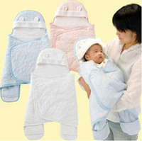 Wholesale Baby Sleeping bags Children Newborn Infant baby blankets Swaddle blanket Baby Pram Swaddle Blanket