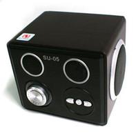 Cheap Brand New SU-05 card mini speakers, lithium Speaker U disk SD card mobile phone speaker