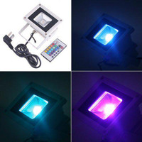 Wholesale 10W Outdoor LED Landscape Projection RGB Flash Floodlight