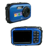 Wholesale Waterproof Underwater Digital Camera Mega Pixels Sensor Inch TFT LCD X Digital Zoom DC B168