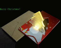 Wholesale led christmas card light Christmas decoration Light new arrival