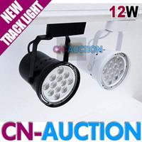 Wholesale 12 W LED Spotlight W High Power LED Track Light Pure White Warm White CN LTL90