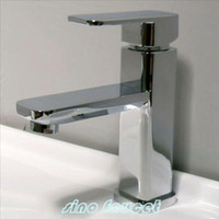 Classic Traditional Brushed Nickel Chrome Finish Bathroom Basin Faucet Mixer Tap A523