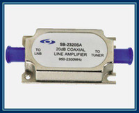 amplifier signal satellite - Satellite line amplifier SB SA s noise circuit design dB coaxial MHz