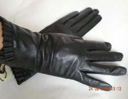 Womens Leather gloves glove skin gloves LEATHER GLOVES 32pairs lot #1343