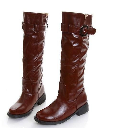 2618 New Women Boots Rain Boots High Heels Boots Lady Boots Roman ...