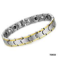 tungsten bracelet - TUNGSTEN STEEL Tungsten Carbide BRACELET BANGLE MAGNETIC HEALTH CARE energy balance bracelet TS933
