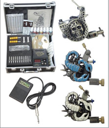 Wholesale by EMS tattoo machine suit case with accessory hot sale