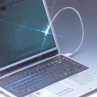 Wholesale notebook USB Laptop Mini Keyboard LED Light PC Computer Lamp Free shopping
