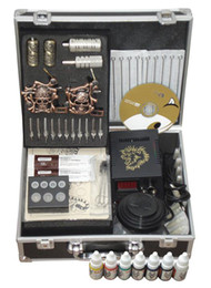 Wholesale stainless steel tatto machine guns all accessory Aluminum Carrying Case