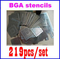 Wholesale 2011 mid new wholesales BGA stencil BGA Kit reballing stencils with direct heating reballin