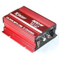 75 - 90dB car cd mp3 - Mini Speaker Digital Car Power Amplifier AMP Channel W for MP3 MP4 CD