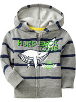 Wholesale Boys jackets coats hoodies girls surcoat jumpers outerwears surcoats Cardigans outfits tops LM480
