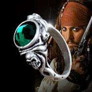 Wholesale Pirates of the Caribbean Jack Sparrow s Skull Ring