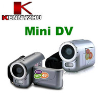 Wholesale Mini Digital DV Camcorder Video Camera LCD Mega Pixel CMOS DV136 For Christmas Gift