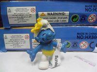 Wholesale New Arrival the Smurf Smurfs PVC Action Figures models set