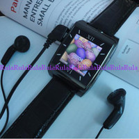 Wholesale New V5 Quadband M Camera Bluetooth Voice Dialling Touchscreen MP3 MP4 Watch Cellphone