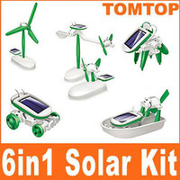 Wholesale Hot Sale Polythene in DIY Educational Solar Powered Manual Assemble Kits Robotikits Toy H1817