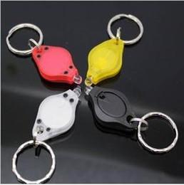 Wholesale Photon II2 Micro Light LED Keychain Flashlight LED Nightlight Waterproof Mini Torch Key Chain Ring Keyring White LED Lights Night Light
