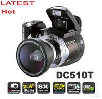 Wholesale DC500T upgrade DC510T with Wide angle lens digital camera MP X Digital Zoom inch LCD camera