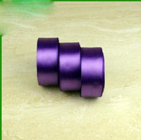 Wholesale Purple Attract Hot Item Crafts Ribbon mm Polyester Flat Ribbon