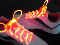 Wholesale 2011 hot selling model LED Flashing shoelace light up shoelace led shoelace