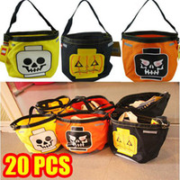 Folding halloween bag - New Arrival Hot Pumpkin Shopping Bag Cute Gift For Halloween