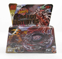 Wholesale styles Super D Top Clash Metal Beyblade Spinning Tops Toys Games